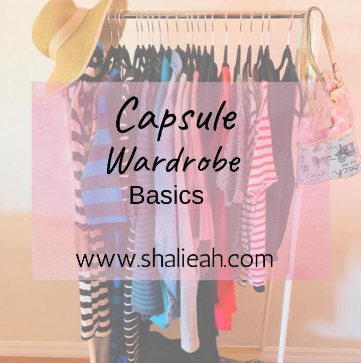 CAPSULE WARDROBE: BASICS
