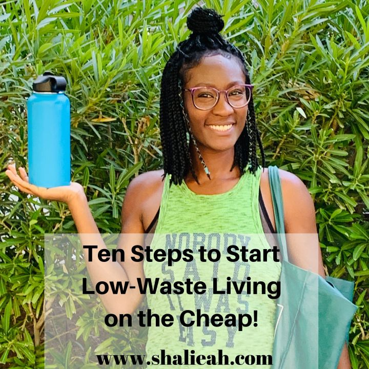 10 Steps to Start Low-Waste Living on the cheap